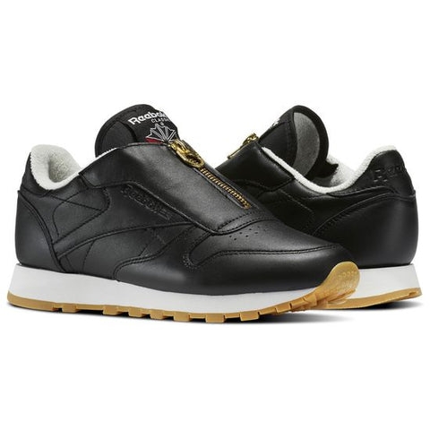 REEBOK CLASSICS LEATHER ZIP WOMENS SNEAKERS
