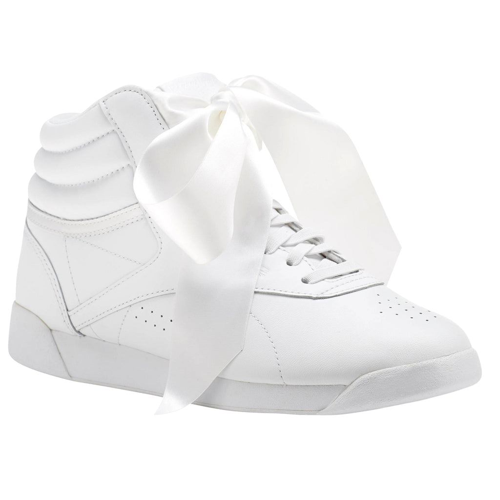 f29846eb9cae6 REEBOK F/S SATIN BOW WOMENS SNEAKERS