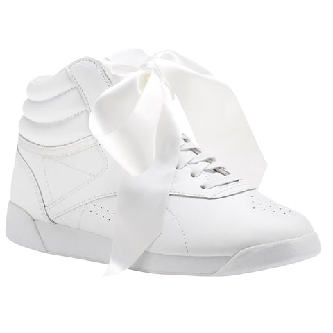 REEBOK F/S SATIN BOW WOMENS SNEAKERS