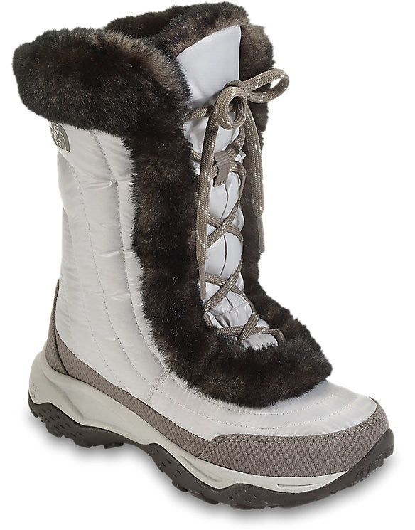 KIDS THE NORTH FACE NUPTSE FAUX FUR II BOOTS