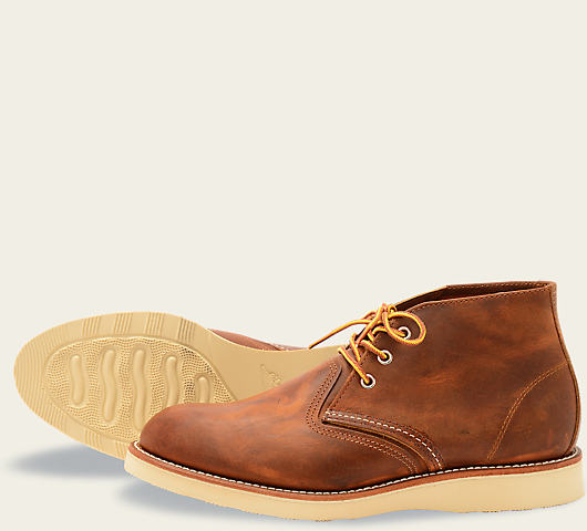 RED WING CLASSIC CHUKKA MENS BOOTS