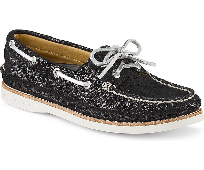 WOMENS SPERRY GOLD A/O 2-EYE SHOES