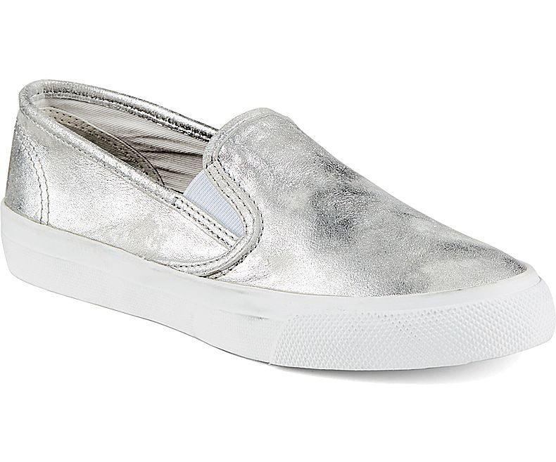 WOMENS SPERRY SEACOAST METTALLIC SNEAKERS