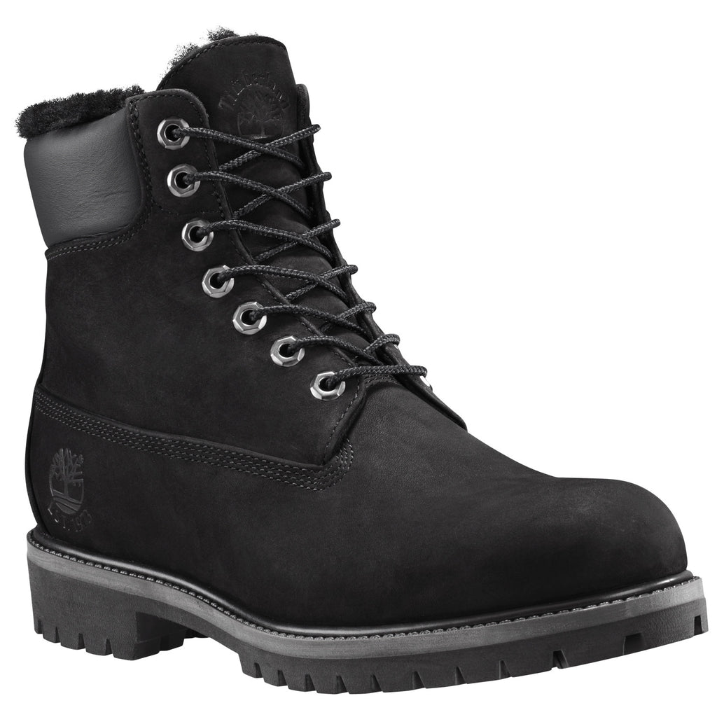 "TIMBERLAND 6"" PREMIUM FUR LINED MENS BOOTS"