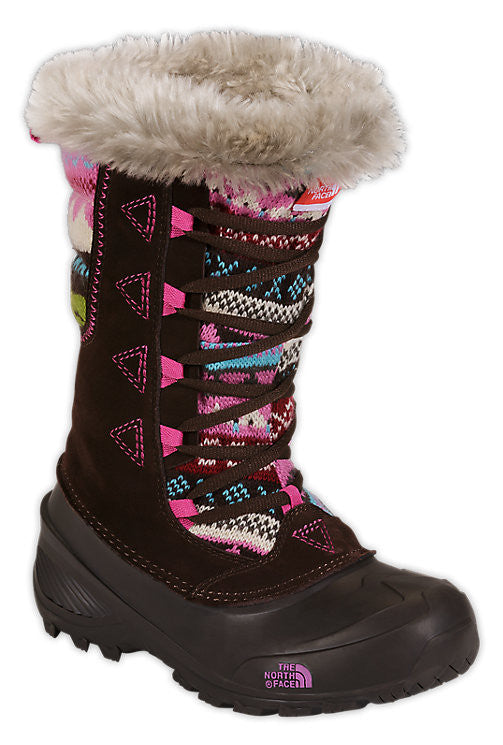 KIDS THE NORTH FACE SHELLISTA LACE NOVELTY II BOOTS