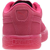 KIDS PUMA SUEDE EMBOSS ICED FLUO SNEAKERS