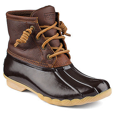 WOMENS SPERRY SALTWATER LEATHER BOOTS