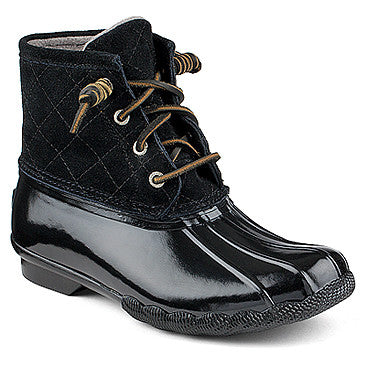 WOMENS SPERRY SALTWATER QUILTED BOOTS