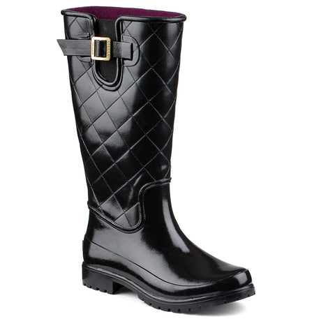 WOMENS SPERRY PELICAN III QUILTED BOOTS
