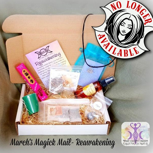 March's Magick Mail Subscription Box- Reawakening