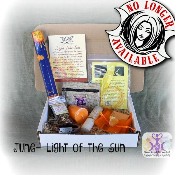 June 2016 Magick Mail Box: Light of the Sun