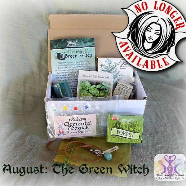 August 2016 Magick Mail Box: The Green Witch