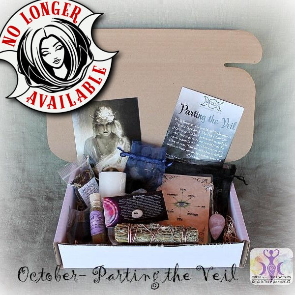 October Magick Mail Box- Parting the Veil