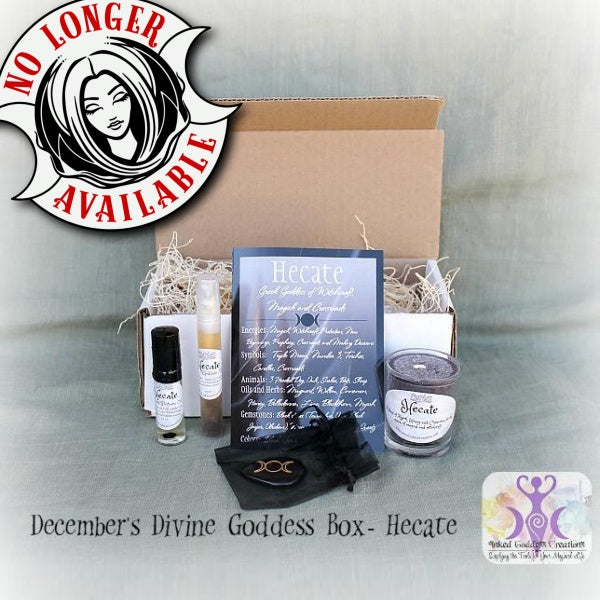 December 2016's Divine Goddess Box- Hecate, Greek Goddess of Witchcraft