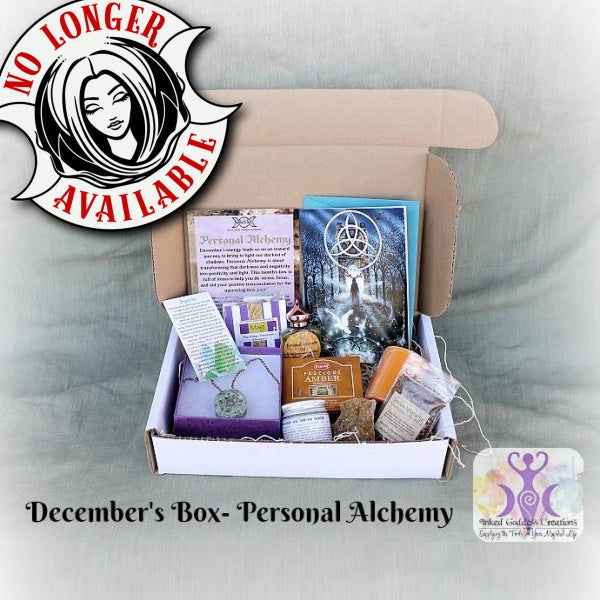 December 2016 Magick Mail Box: Personal Alchemy