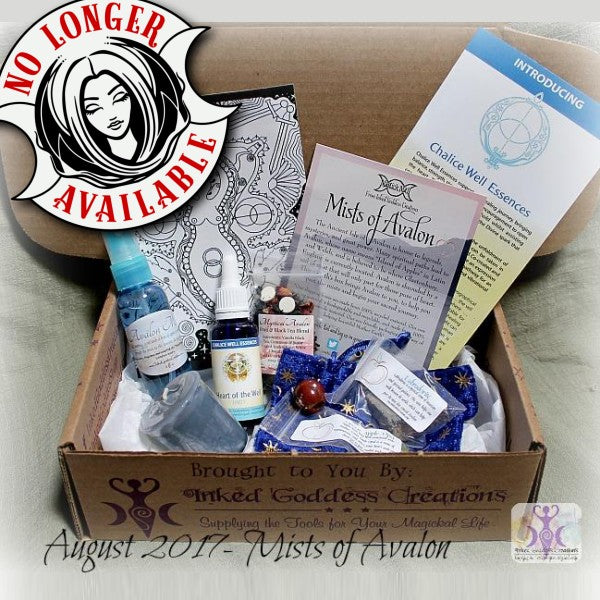 August 2017 Magick Mail Box: Mists of Avalon