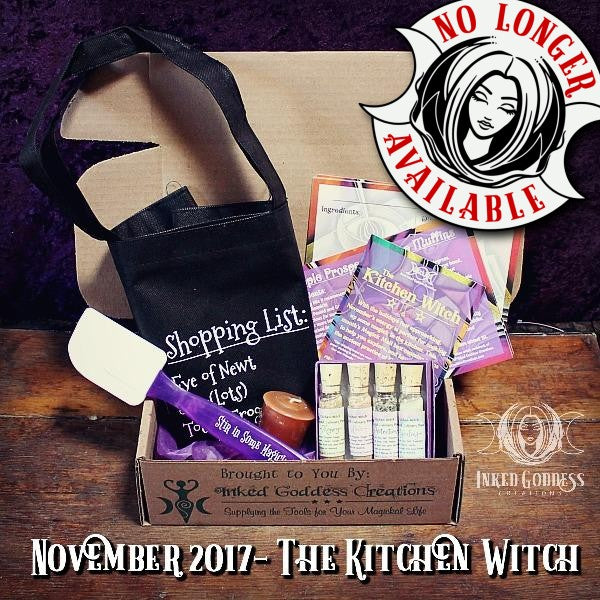 November 2017- The Kitchen Witch