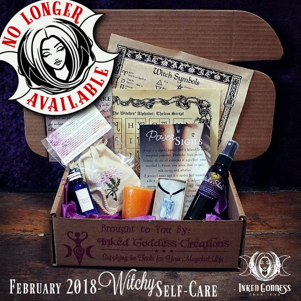 February 2018 Magick Mail- Witchy Self-Care