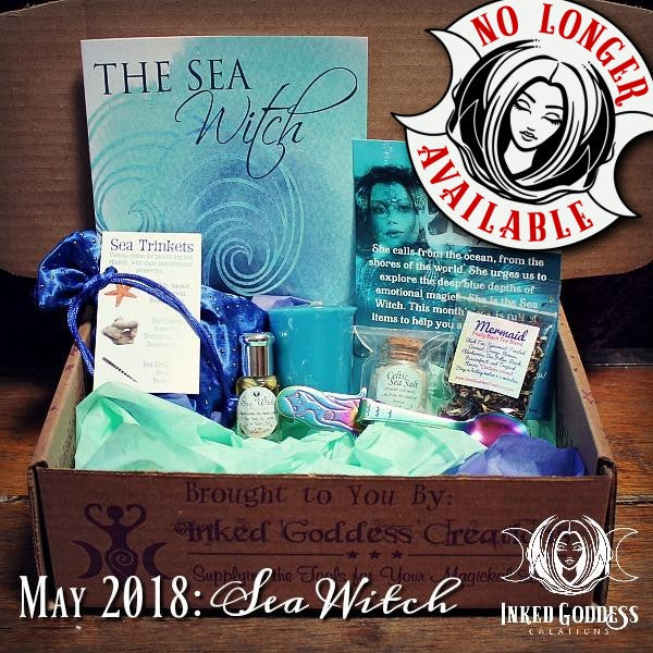 May 2018 Magick Mail Box: Sea Witch