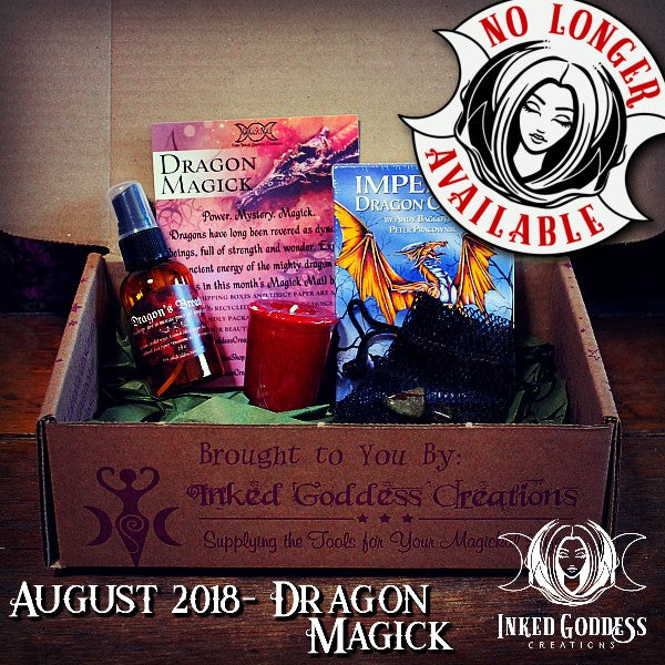 August 2018 Magick Mail Box: Dragon Magick