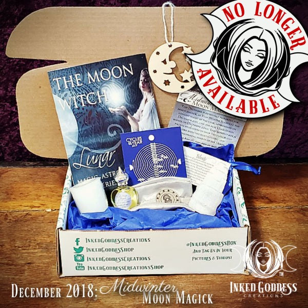 December 2018 Inked Goddess Creations Box: Midwinter Moon Magick
