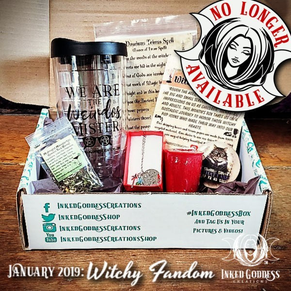 January 2019 Inked Goddess Creations Box- Witchy Fandom