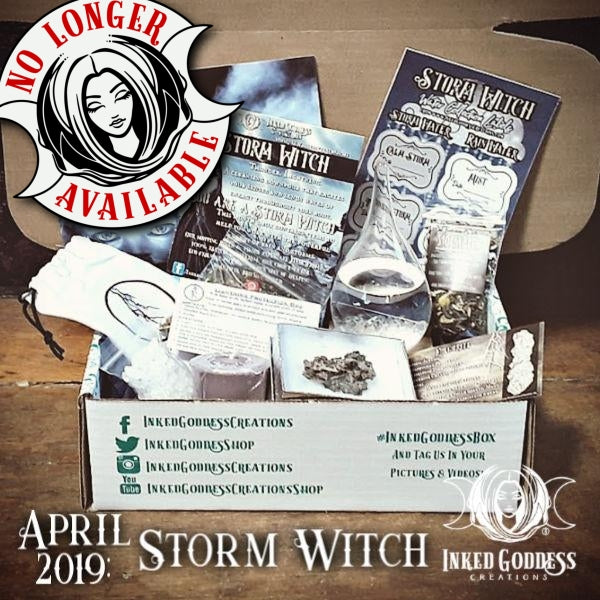 April 2019 Inked Goddess Creations Box: Storm Witch