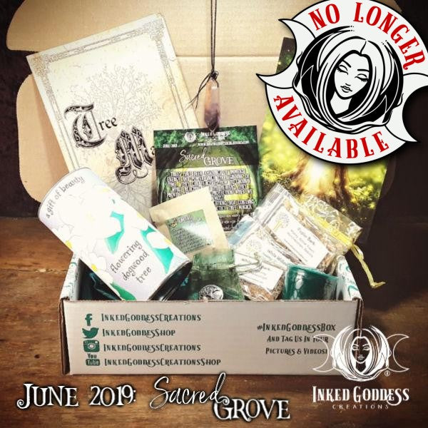 June 2019 Inked Goddess Creations Box- Sacred Grove