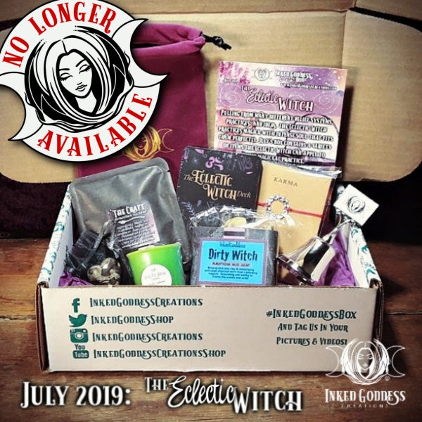 July 2019 Inked Goddess Creations Box: The Eclectic Witch