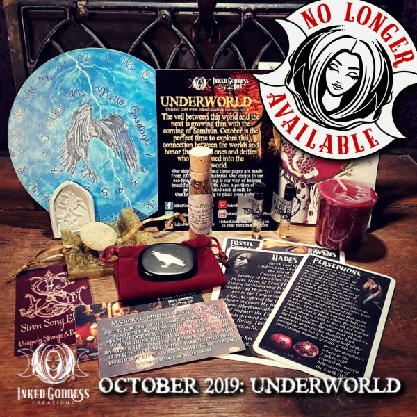 October 2019 Inked Goddess Creations Box: Underworld