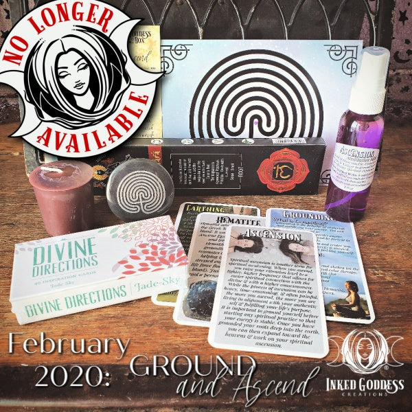 February 2020 Inked Goddess Creations Box: Ground and Ascend