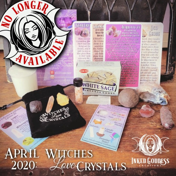 April 2020 Inked Goddess Creations Box: Witches Love Crystals