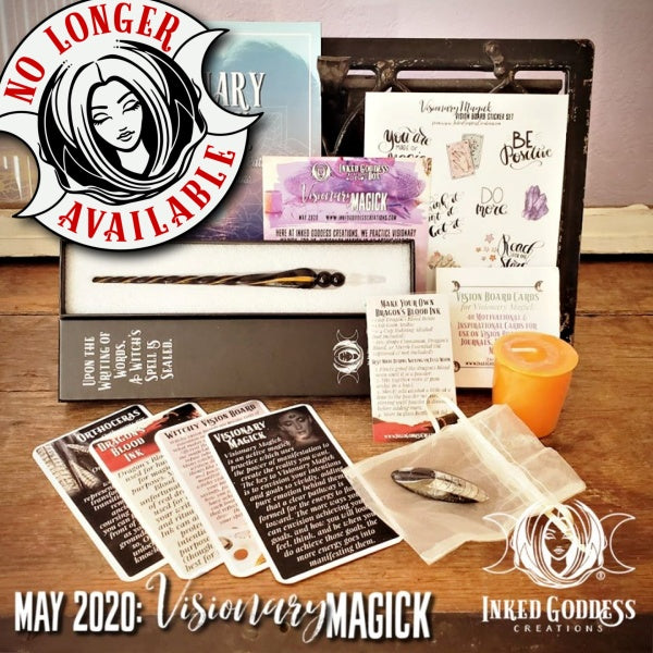 May 2020 Inked Goddess Creations Box: Visionary Magick