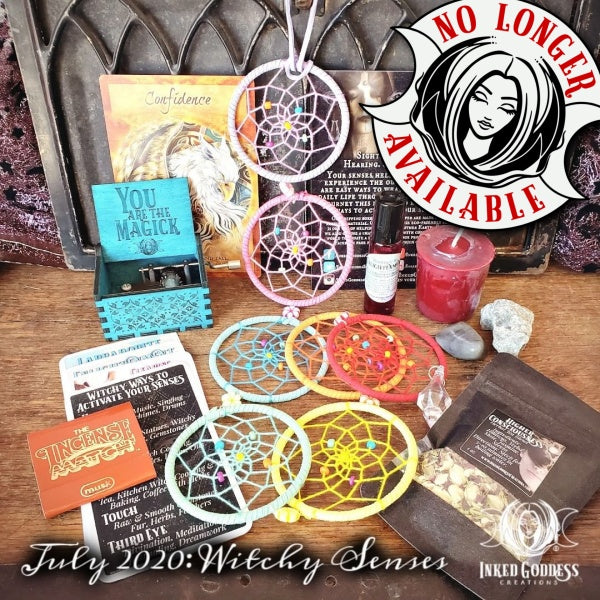 July 2020 Inked Goddess Creations Box: Witchy Senses