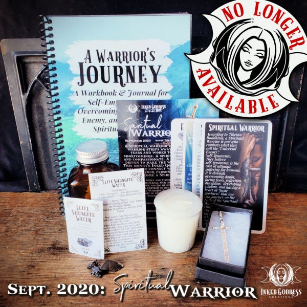 September 2020 Inked Goddess Creations Box: Spiritual Warrior