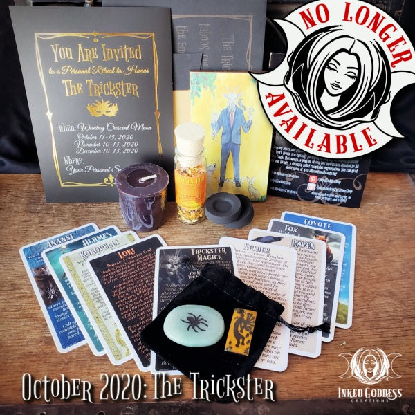 October 2020 Inked Goddess Creations Box: The Trickster