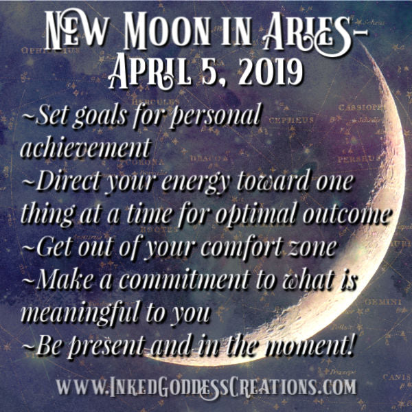 New Moon in Aries- April 5, 2019