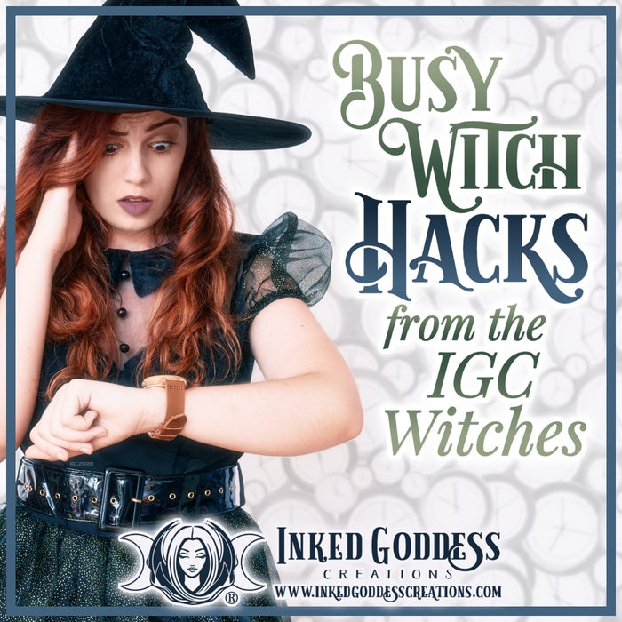 Busy Witch Hacks from the IGC Witches