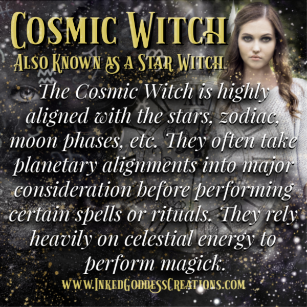 Cosmic Witch from Inked Goddess Creations