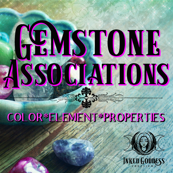 Gemstone Associations- Color, Element, Properties and More!