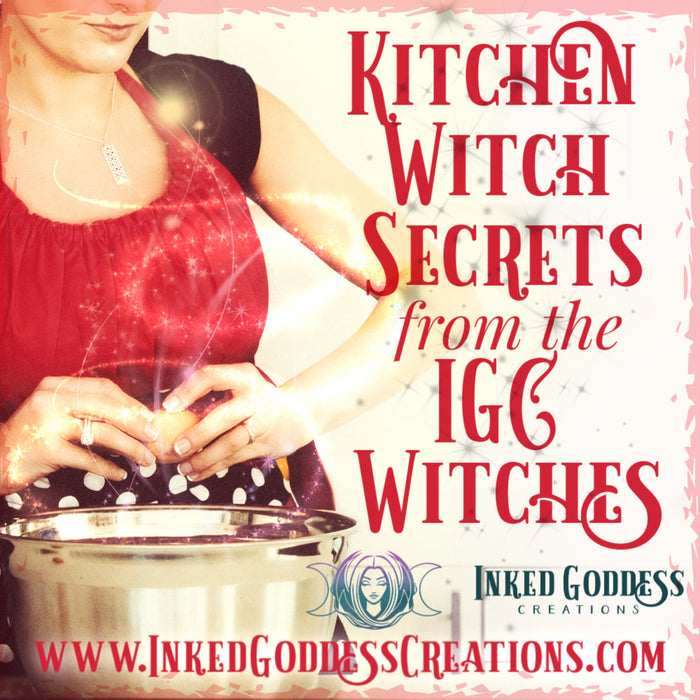 Kitchen Witch Secrets from the IGC Witches