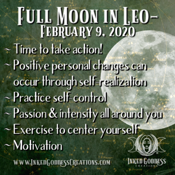 Full Moon in Leo- February 9, 2020
