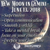 New Moon in Gemini- June 13, 2018