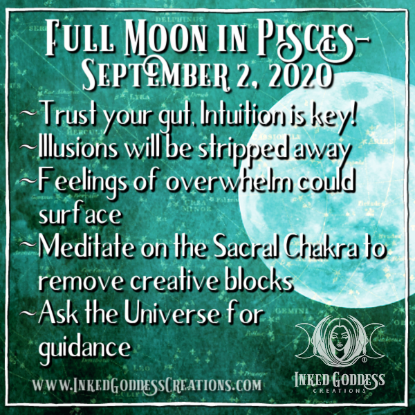 Full Moon in Pisces- September 2, 2020
