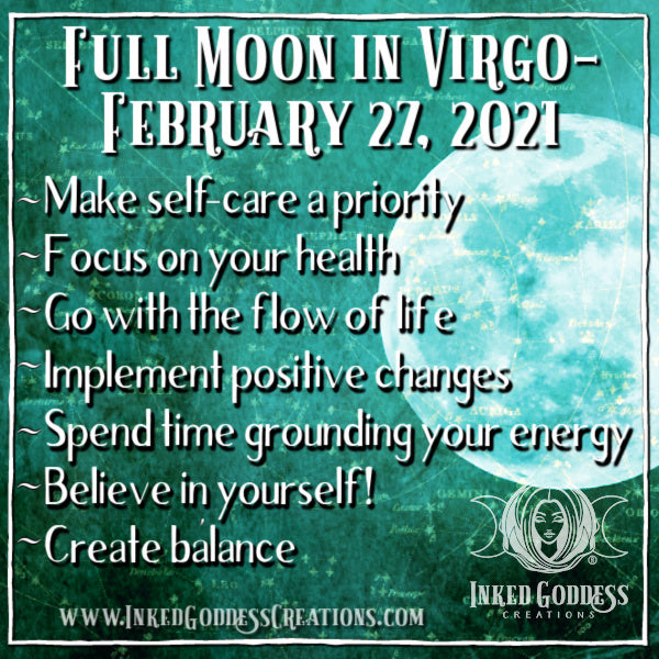 Full Moon in Virgo- February 27, 2021