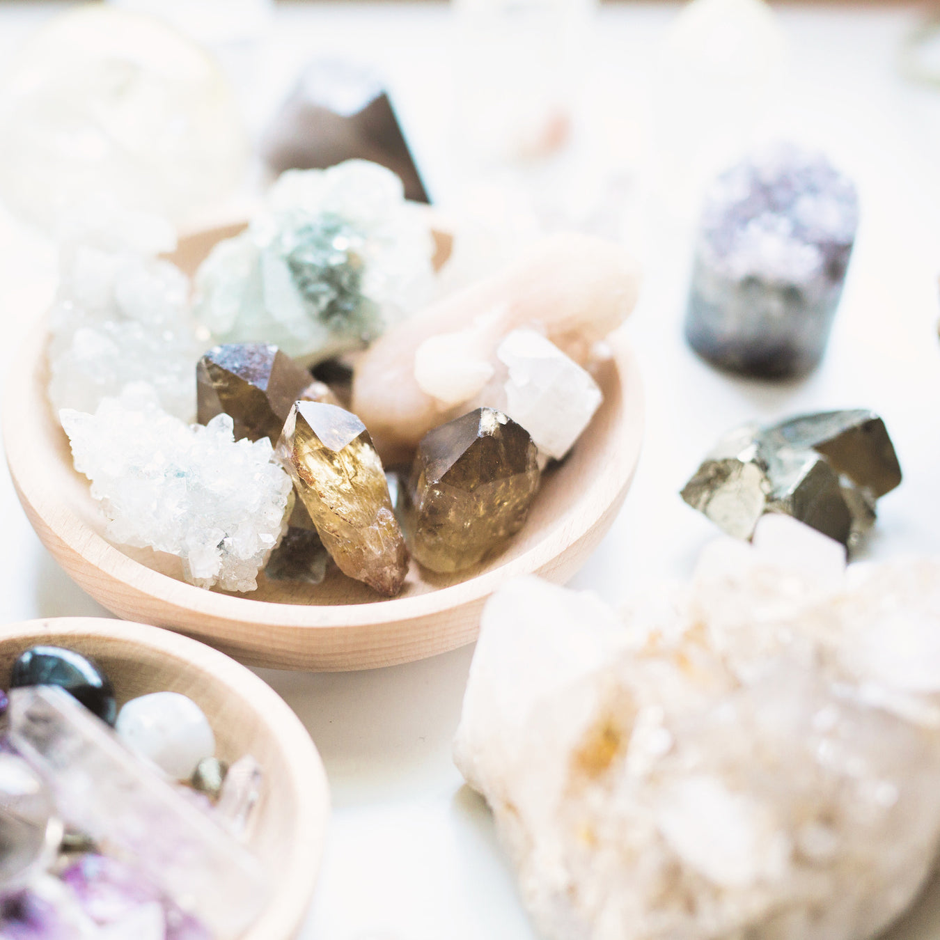Gemstones- Raw & Clusters