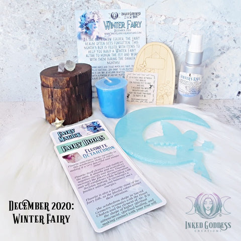 December 2020 Inked Goddess Creations Box: Winter Fairy
