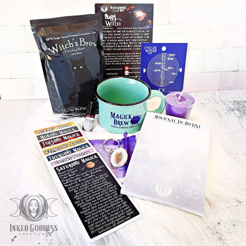 January 2021 Inked Goddess Creations Box: Busy Witch
