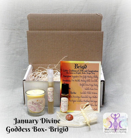 January 2017 Divine Goddess Box: Brigid