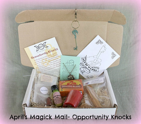 April 2016 Magick Mail Box: Opportunity Knocks